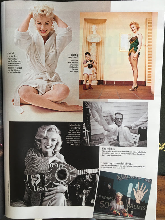 UK Event Magazine Sept 24th 2017 Marilyn Monroe Robert Lindsay Colin Firth Toby Stephens