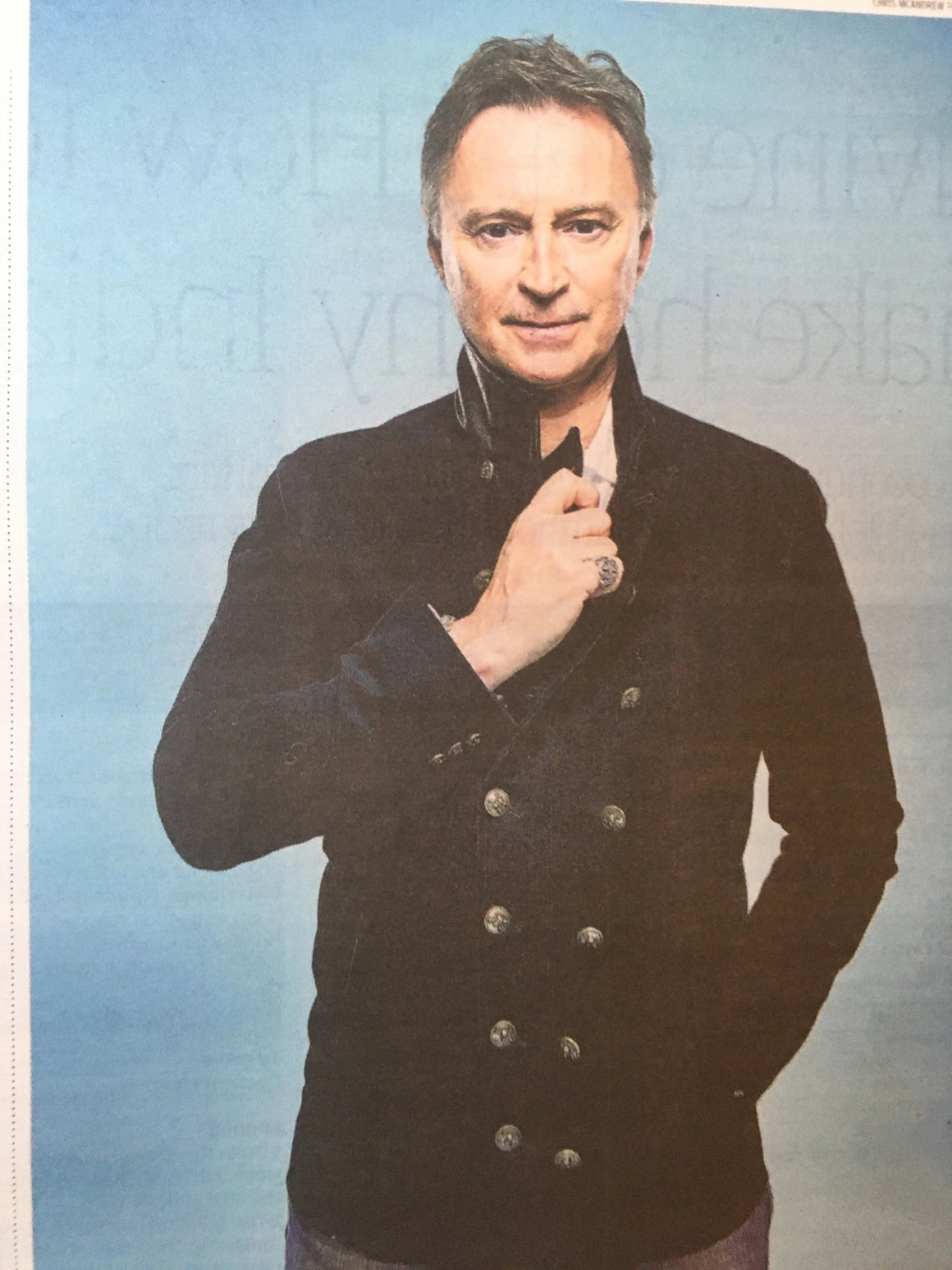 UK Times Weekend January 2020: ROBERT CARLYLE INTERVIEW