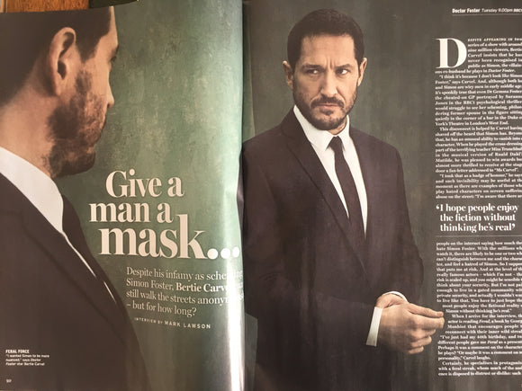 Bertie Carvel & Suranne Jones on the cover of Radio Times Magazine