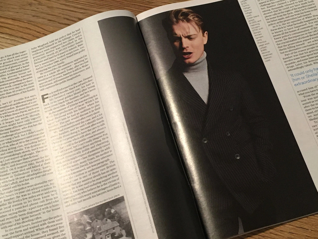 The Telegraph magazine - FREDDIE FOX Cover & Interview (11 January 2020)