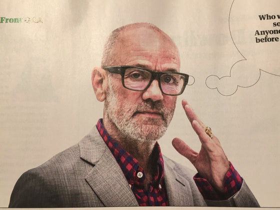 GUARDIAN WEEKEND MAGAZINE - 11 January 2020 - Michael Stipe (REM)