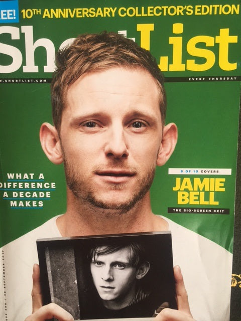 Jamie Bell on the cover of Shortlist Magazine