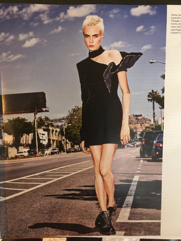 Cara Delevingne on the cover of Telegraph Magazine