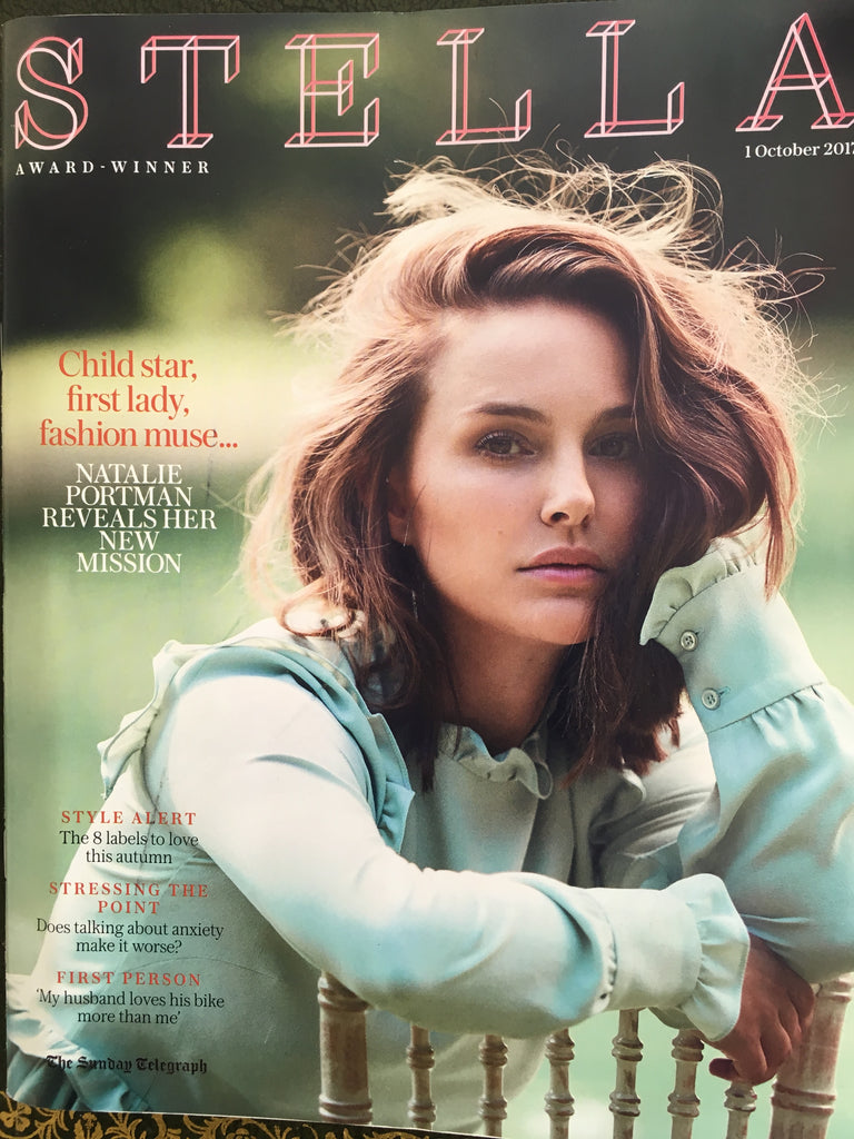 Natalie Portman ON THE COVER OF STELLA MAGAZINE