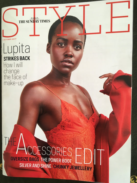 Lupita Nyong'o on the cover of Style Magazine