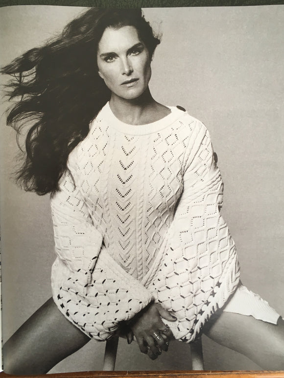 Brooke Shields on the cover of Guardian Magazine