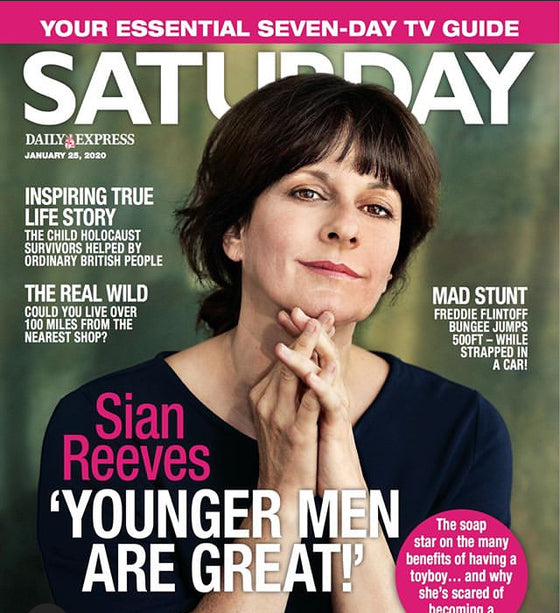 SATURDAY Magazine 01/2020 SIAN REEVES Richard Armitage IAIN GLEN Gwyneth Powell