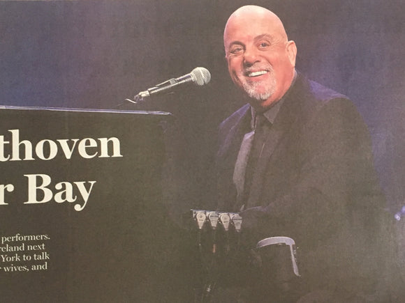 Billy Joel interview in Irish Independent