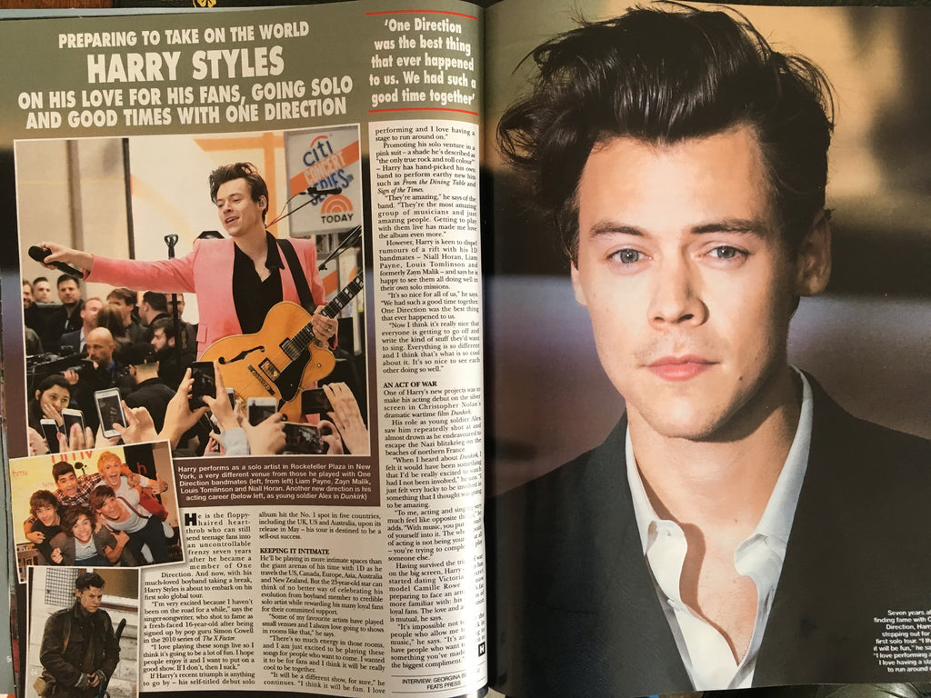 Harry Styles interview in Hello! Magazine