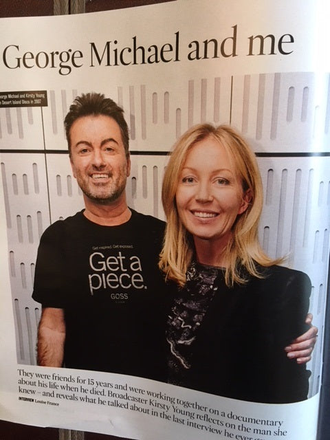 UK Times Magazine 14th October 2017 My Close Friend George Michael Special