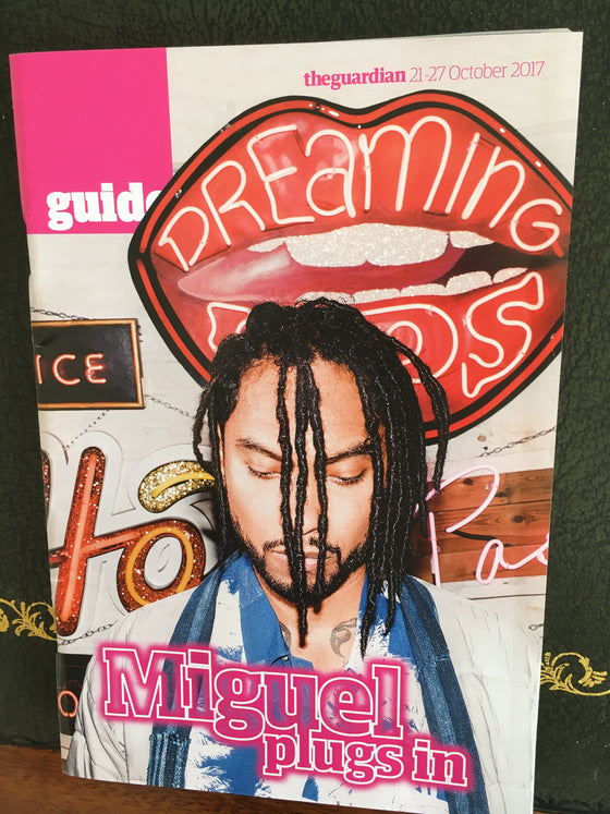 Miguel on the cover of Guide Magazine