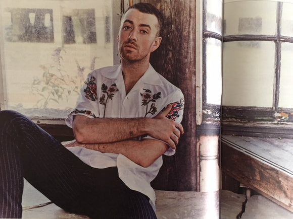 Sam Smith on the cover of Culture Magazine