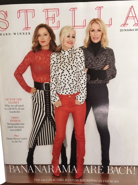 Stella Magazine Bananarama Cover and exclusive Interview