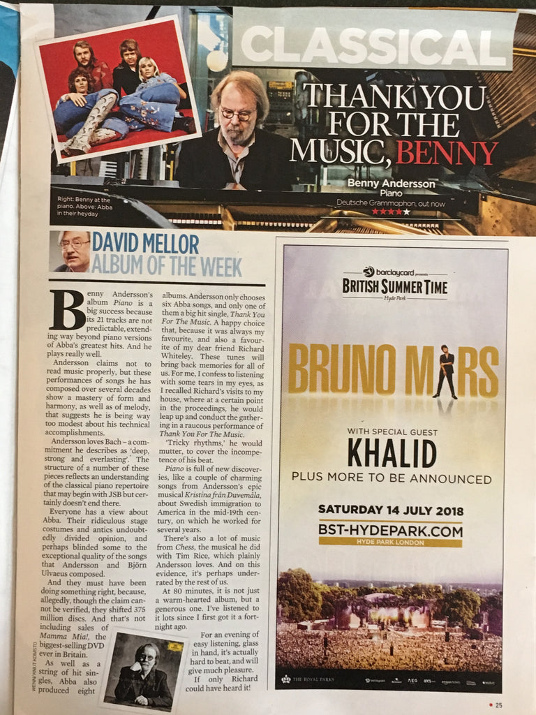 Event Magazine 22 October 2017 Mick Jagger Hall & Oates Jenny Seagrove Benny Anderson