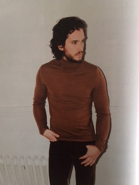 Kit Harington on the cover of the Guardian Magazine