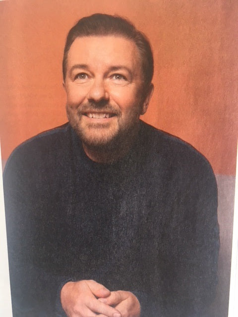 UK Balance Magazine October 2017 Ricky Gervais Photo Cover Interview