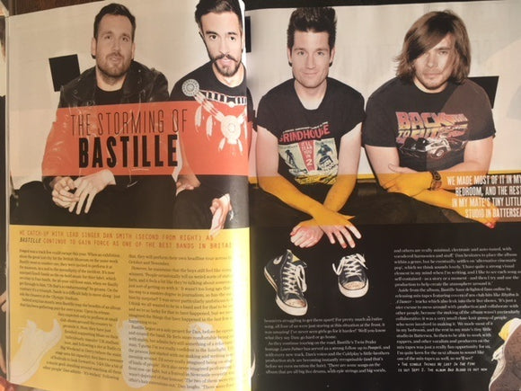 Dan Smith of Bastille interview