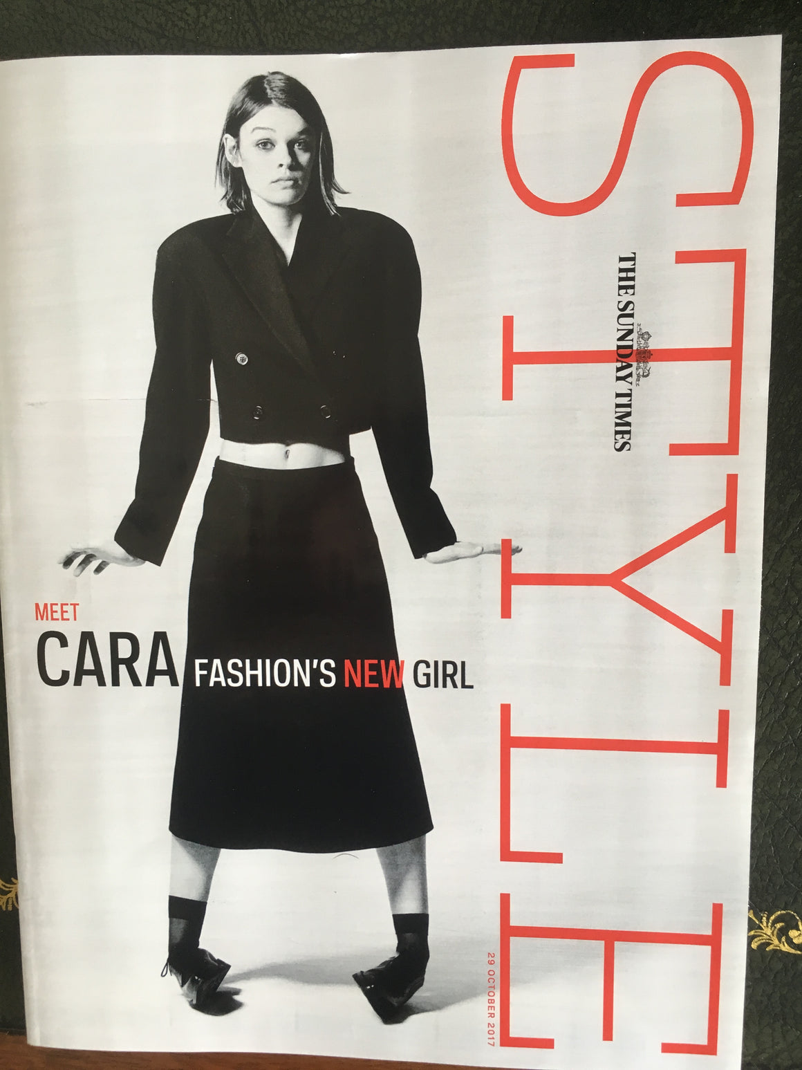 STYLE MAGAZINE CARA TAYLOR COVER