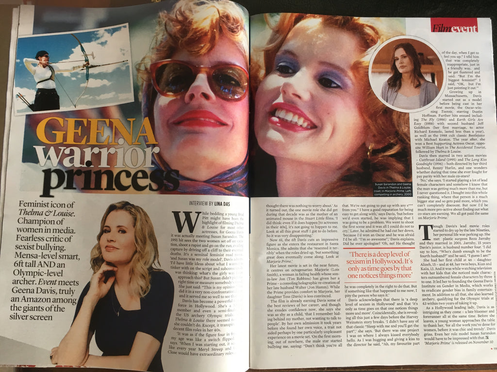 UK Event Magazine 29 October 2017 Lin-Manuel Miranda Geena Davis Rory Kinnear
