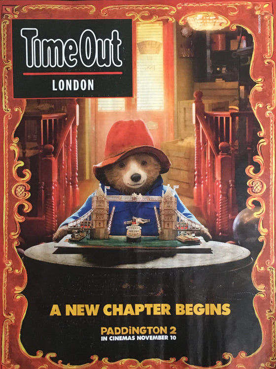 Time Out London Magazine October 2017 Paddington 2 Colin Farrell Mark Gatiss
