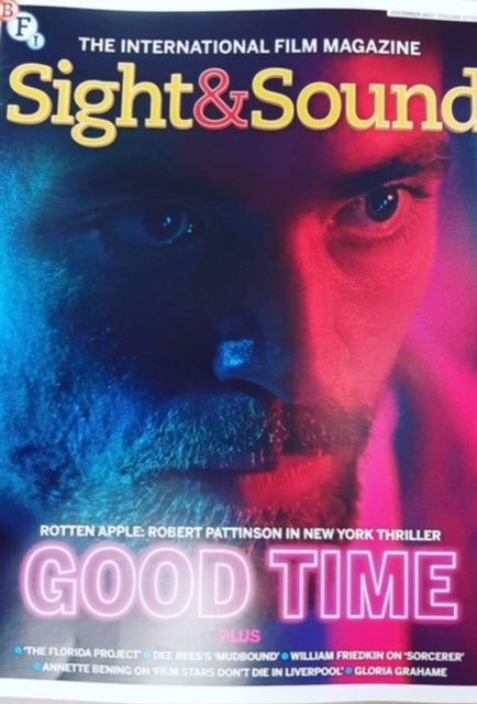 Robert Pattinson on the cover of Sight & Sound Magazine