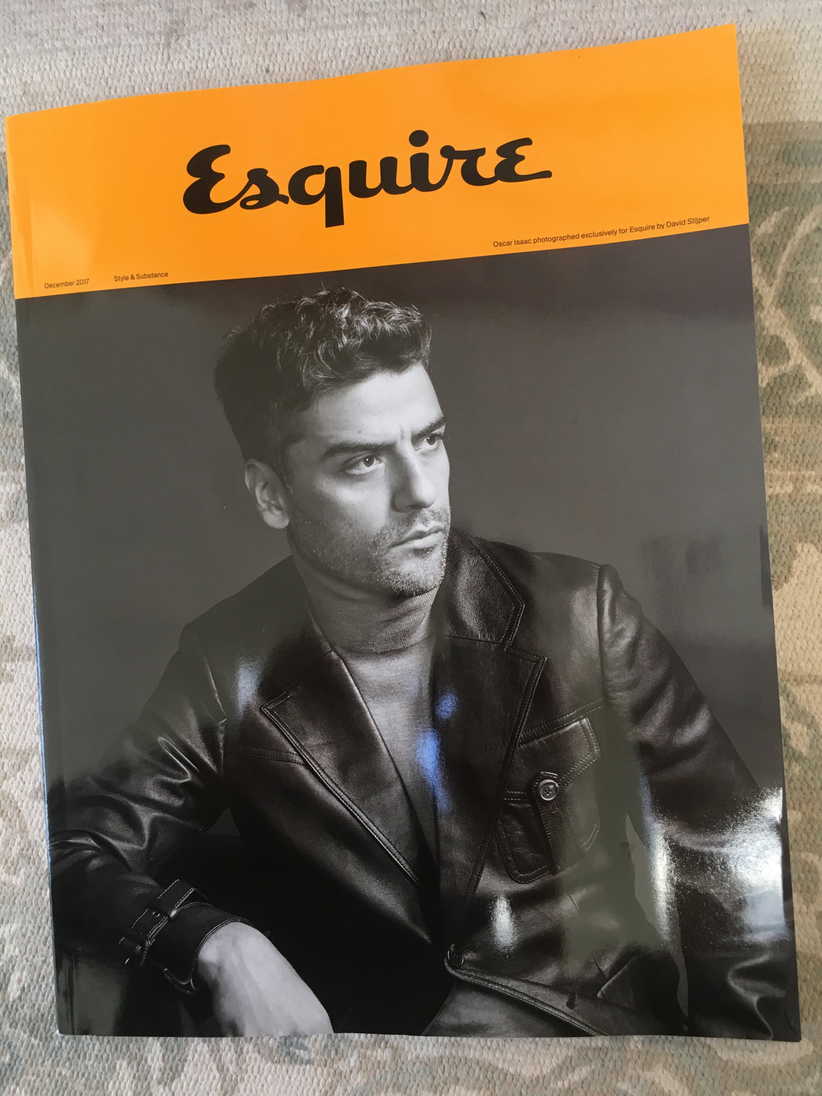 UK Esquire Magazine December 2017 Star Wars Oscar Isaac UK Exclusive Subscribers Cover