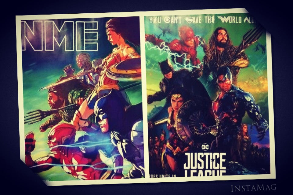 NME Magazine November 2017 Justice League Wonder Woman Gal Gadot Photo Cover