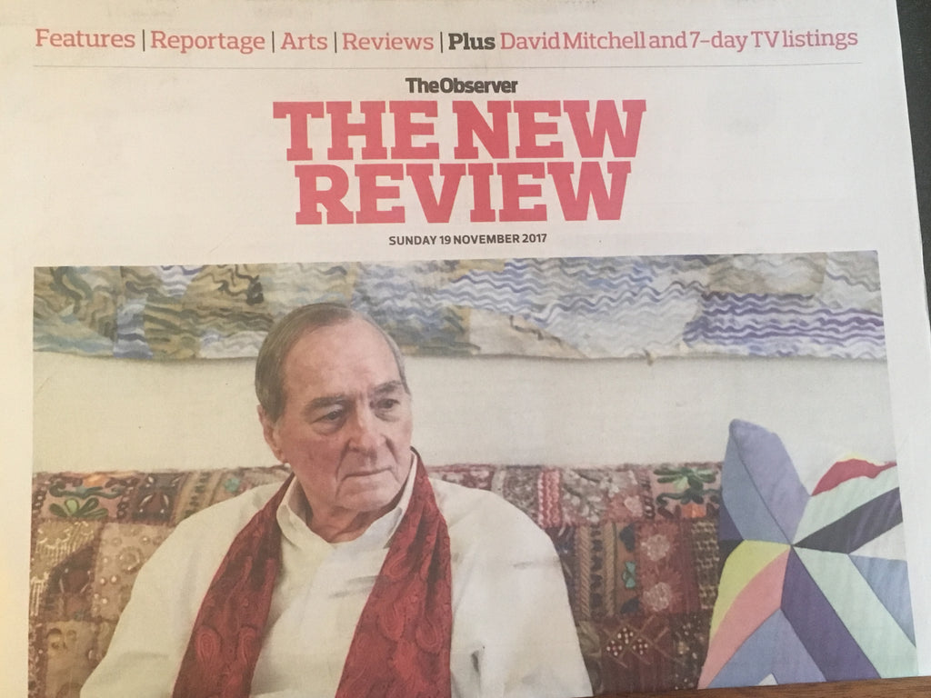 UK Observer Review November 2017 William Eggleston Robert Pattinson Denise Gough