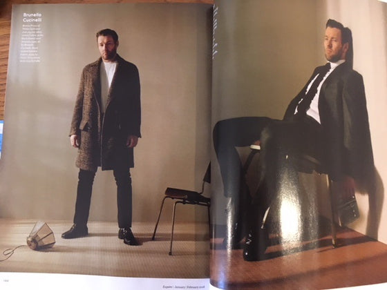 UK Esquire Magazine January 2018 Gary Oldman James Norton Joel Edgerton