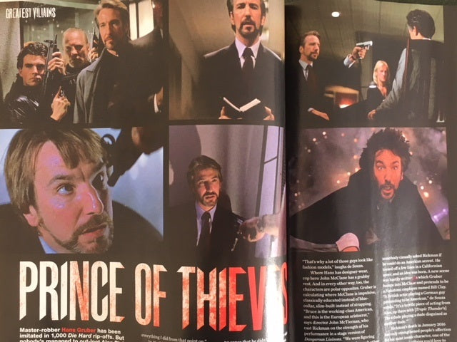 UK Film Magazine March 2018 ALAN RICKMAN Adam Driver Alexander Skarsgard Tom Hiddleston
