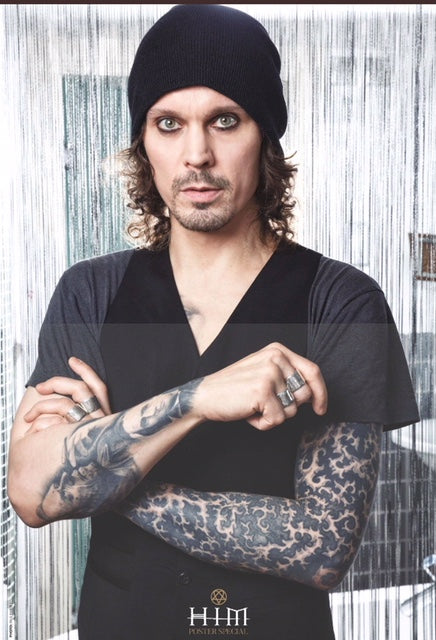 KERRANG! February 2018: VILLE VALO Him 5 POSTER SPECIAL