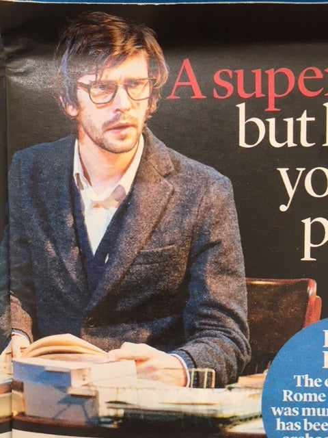 UK Event Magazine February 2018: BEN WHISHAW Julius Ceasar EZRA FURMAN