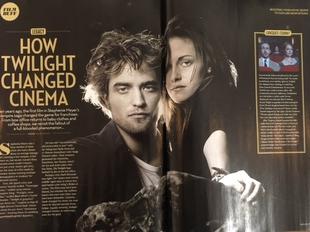 Total Film Magazine March 2018 Robert Pattinson Kristen Stewart Adam Driver Martin Freeman