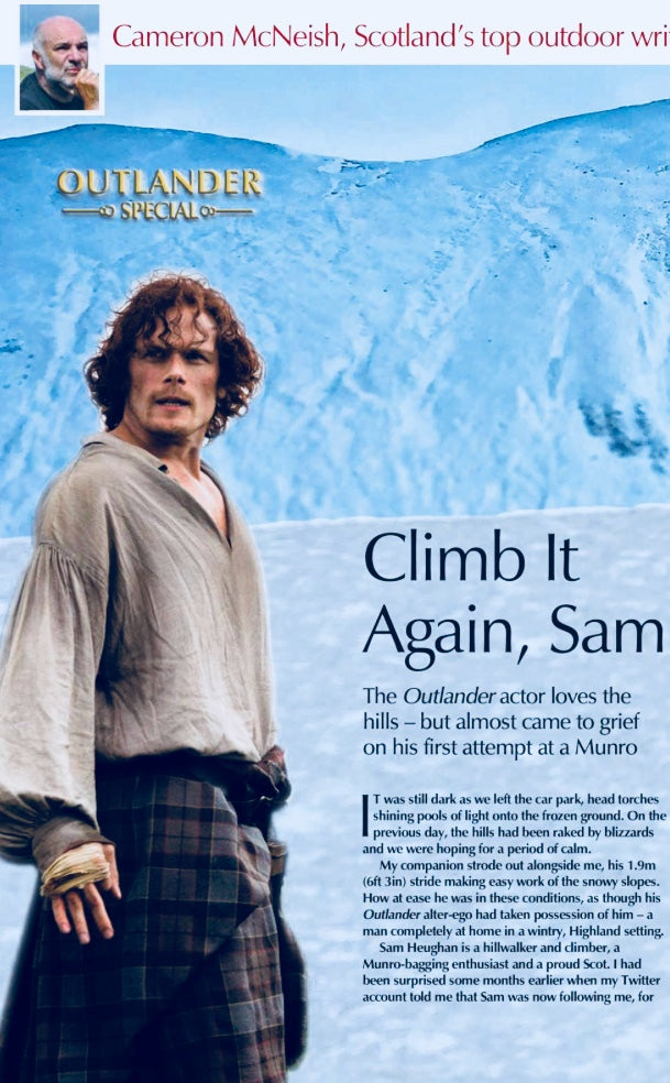 UK Scots Magazine March 2018 Sam Heughan Outlander 13 page special issue