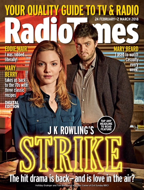 Radio Times Magazine February 24th 2018 Tom Burke Darren Criss Matt LeBlanc Ricky Martin