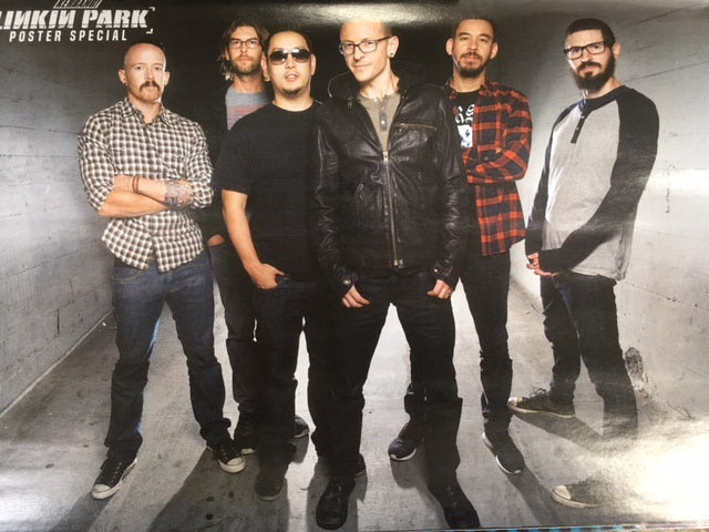 Kerrang! Magazine 24th February 2018 Chester Bennington Linkin Park Poster Special