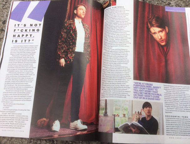 UK Shortlist Magazine MARCH 2018: DOMHNALL GLEESON COVER & INTERVIEW