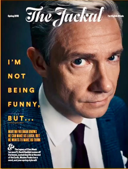 The Jackal Magazine 28th March 2018 Martin Freeman Cover Interview