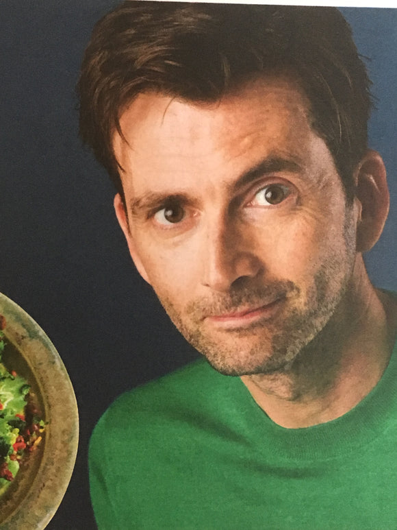 UK Observer Magazine 8th April 2018 David Tennant Interview