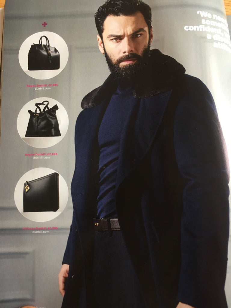 British GQ Magazine February 2018 Aidan Turner Photo Shoot
