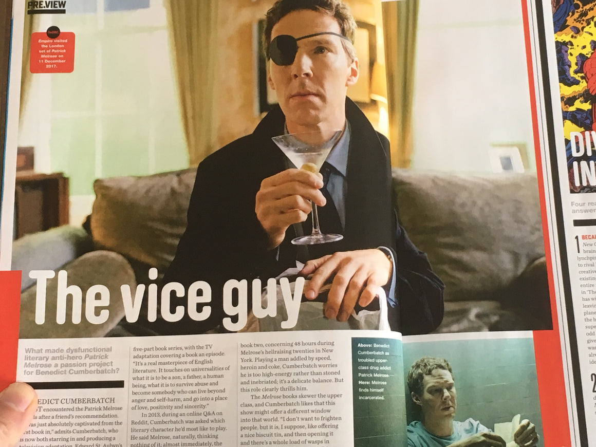 UK Empire Magazine 2018 Benedict Cumberbatch Martin Freeman Hugh Jackman Daisy Ridley