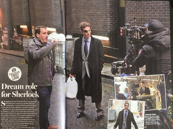 UK Radio Times Magazine April 2018 Benedict Cumberbatch is Patrick Melrose