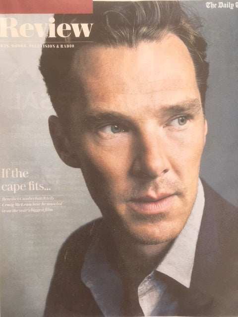UK Telegraph Review 21 April 2018 Benedict Cumberbatch Cover Story