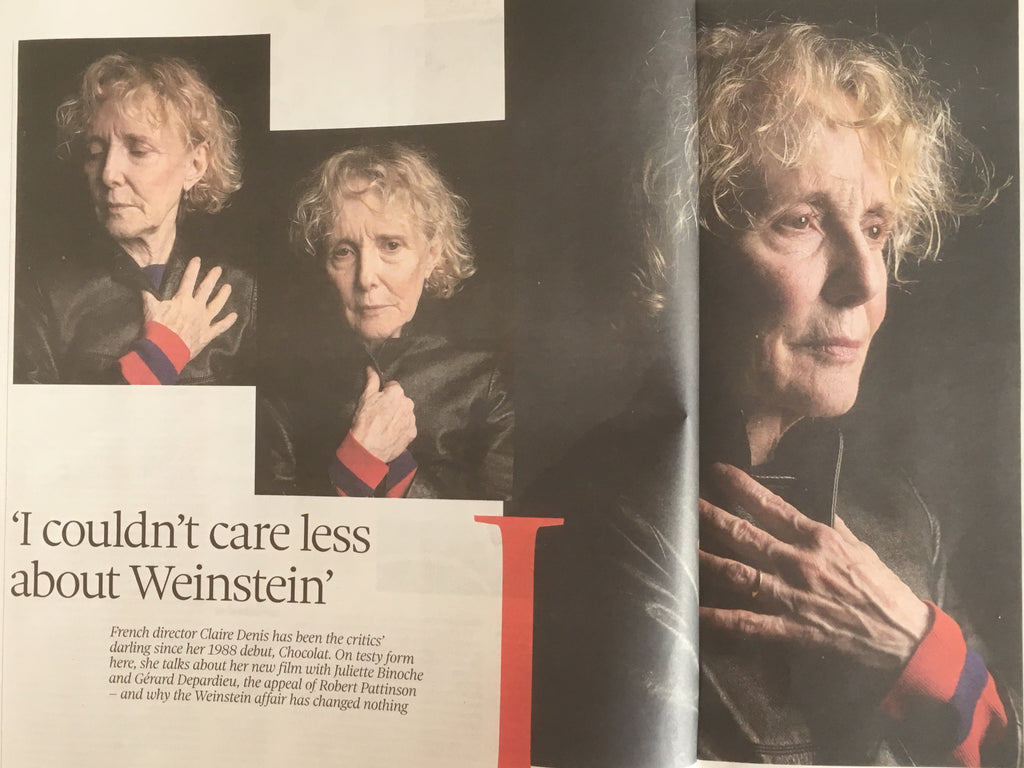 UK Observer Review April 2018: CLAIRE DENIS Robert Pattinson TINA TURNER