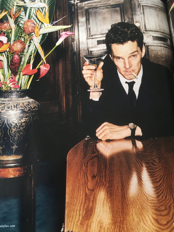 Vanity Fair Magazine April 2018: Benedict Cumberbatch Patrick Melrose
