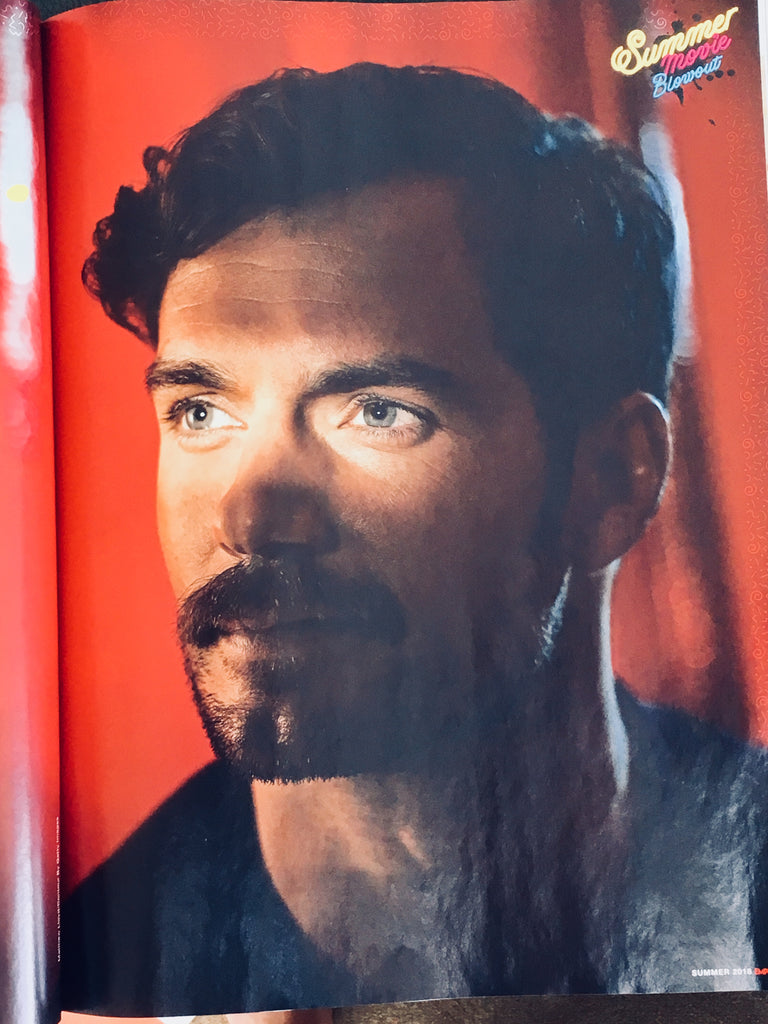 UK Empire Magazine Summer 2018 Henry Cavill Deadpool 2