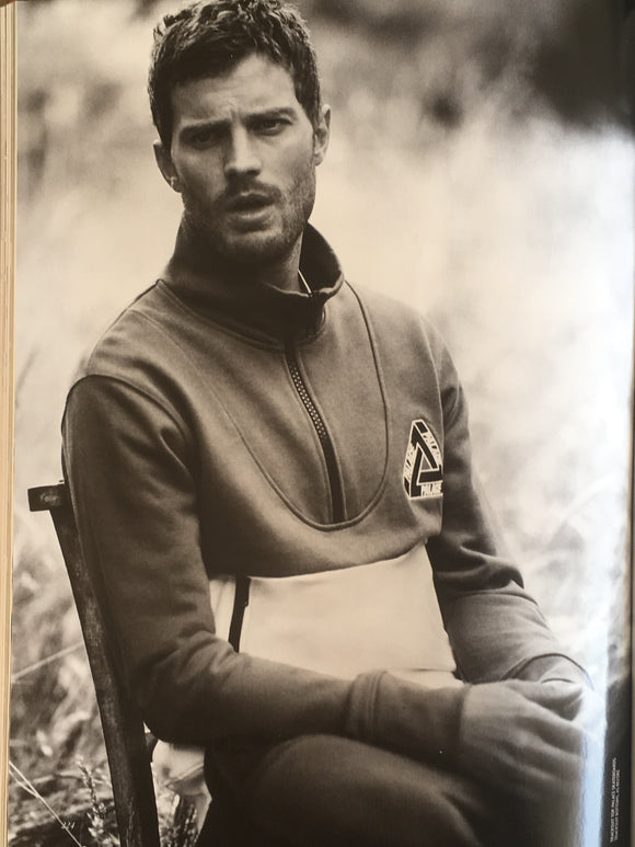 UK Vogue Magazine November 2014 Jamie Dornan 'The Bad Boy Appeal'