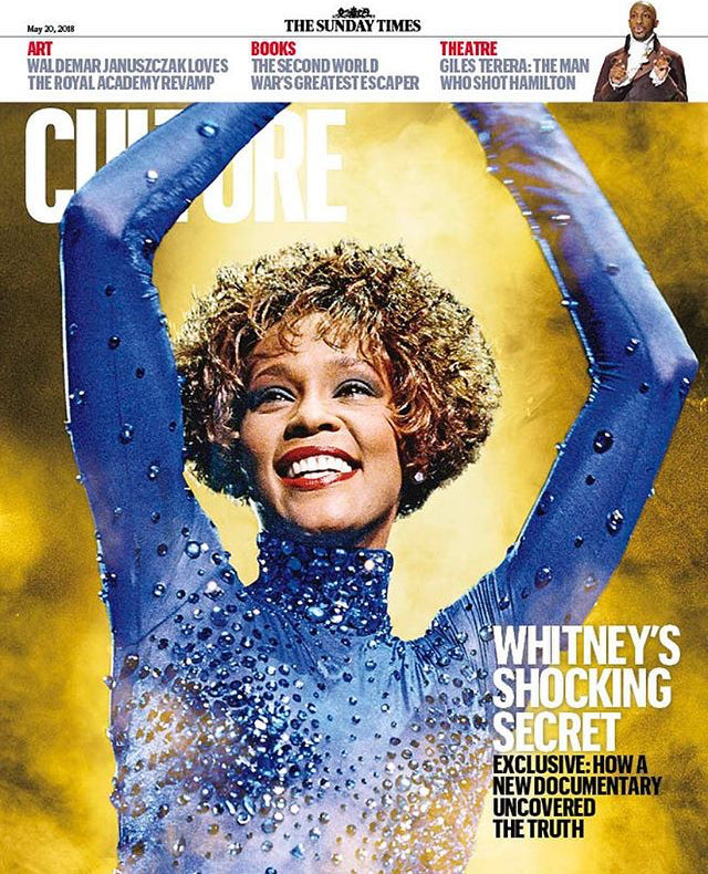 UK CULTURE Magazine May 2018: WHITNEY HOUSTON EXCLUSIVE COVER STORY