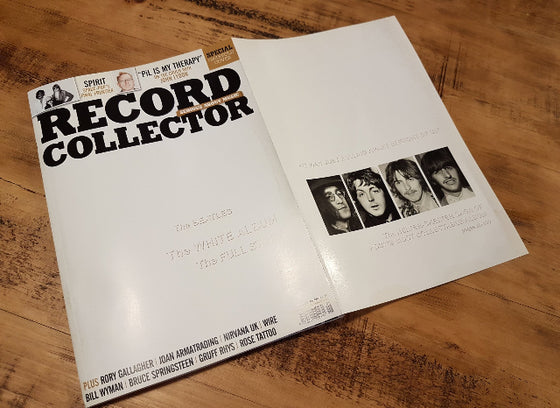 RECORD COLLECTOR magazine June 2018: The Beatles The White Album the full story