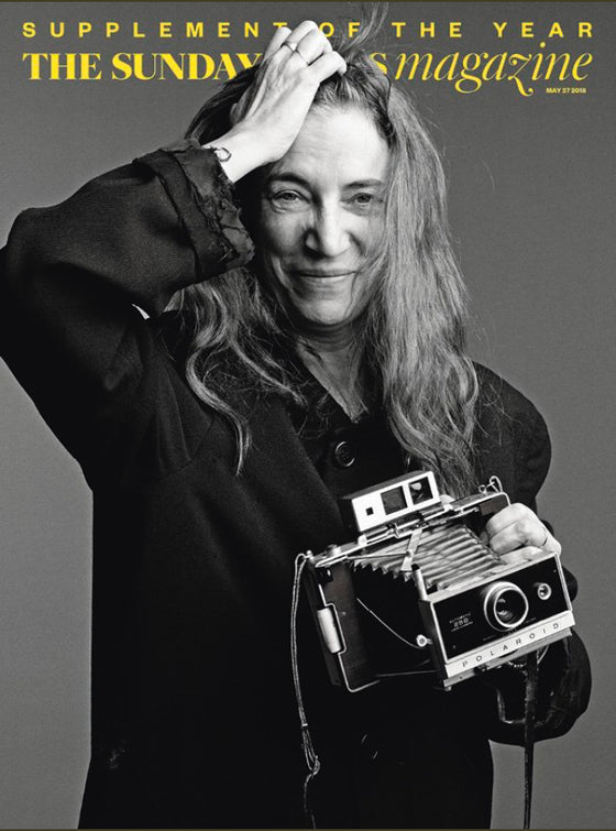 Sunday Times Magazine May 2018: PATTI SMITH COVER STORY EXCLUSIVE